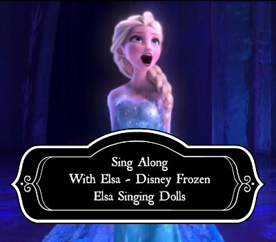 Disney Frozen Elsa Singing Dolls - Sing along with Elsa to some of your favorite songs from the movie Frozen.