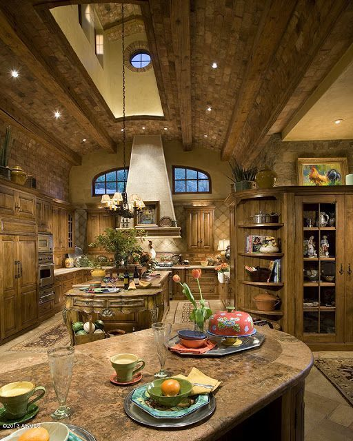 9 Simplest Ways to Build Rustic Tuscan Kitchen Design Tuscan
