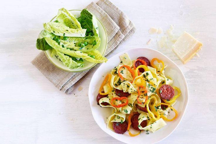 Spanje meets Italië in deze pasta - Recept - Allerhande