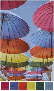 ColourSpun: ColourSpun Colourways - Parasoles
