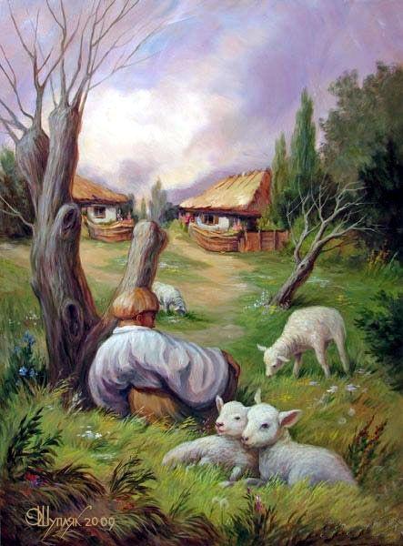 Het is een man met een snor en ook een soort dorp.#Illusies #Snor #Dorp