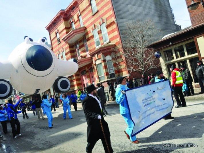 Quebec City St. Patrick's Day Parade