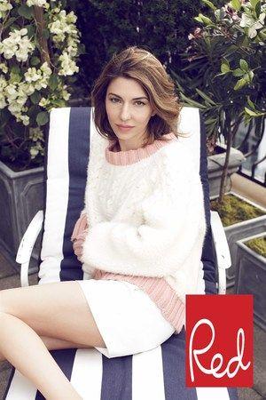 Sofia-Coppola-Red-Magazine-Cover, Sofia Coppola, natural, classy, effortless, Italian, chic