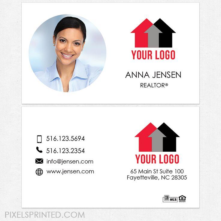 22 best Real estate business cards images on Pinterest