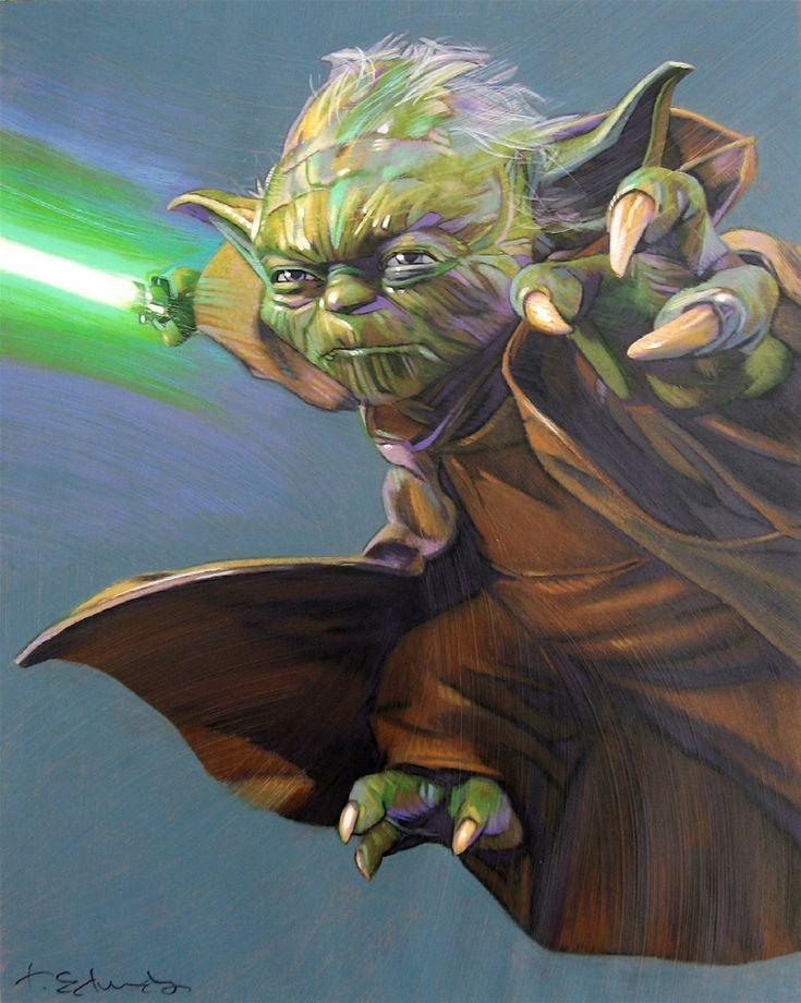 Yoda - by Tommy Lee Edwards