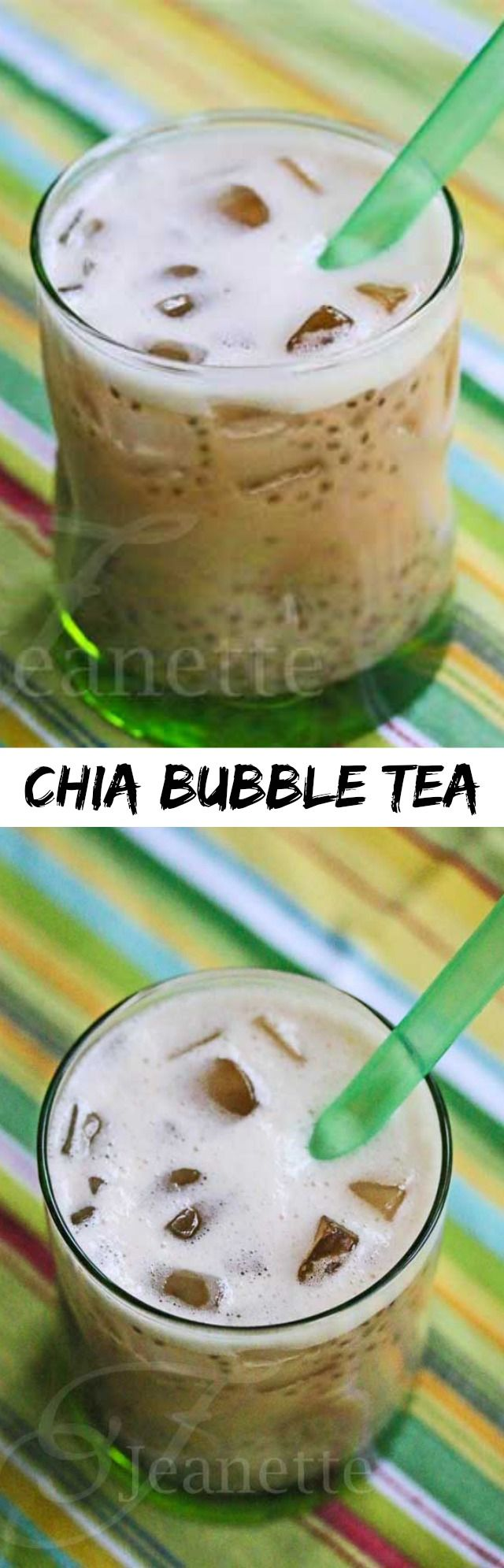 Love bubble tea? Check out this DIY recipe from Jeanette's Healthy Living using chia seeds, raw honey, and our Chocolate Rooibos tea!