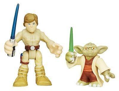 Star Wars Playskool Heroes Galactic Heroes Yoda And Luke Skywalker