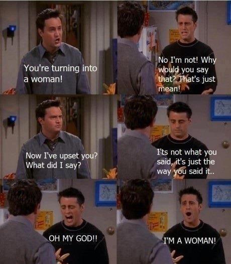 I love Chandler + Joey