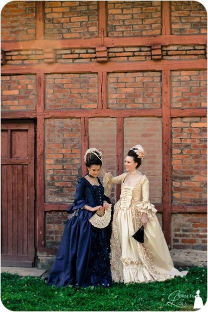 Robes à la française XVIIIè siècle, Les Corsets De Lola, 2014 Photo : Laura Monpeurt