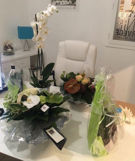 Toutes les belles compositions de bouquets de fleurs de Ronan Le Berrigaud de chez 5ème saison http://www.5eme-saison.com/