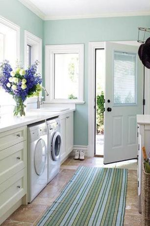 """""""View this Great Country Laundry Room with Built-in bookshelf & Glass panel door by Eric & Janelle Boyenga #1 Team. Discover & browse thousands of other home design ideas on Zillow Digs."""""""