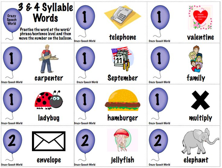 Premise Indicator Words: 175 Best Images About Teaching Syllables On Pinterest