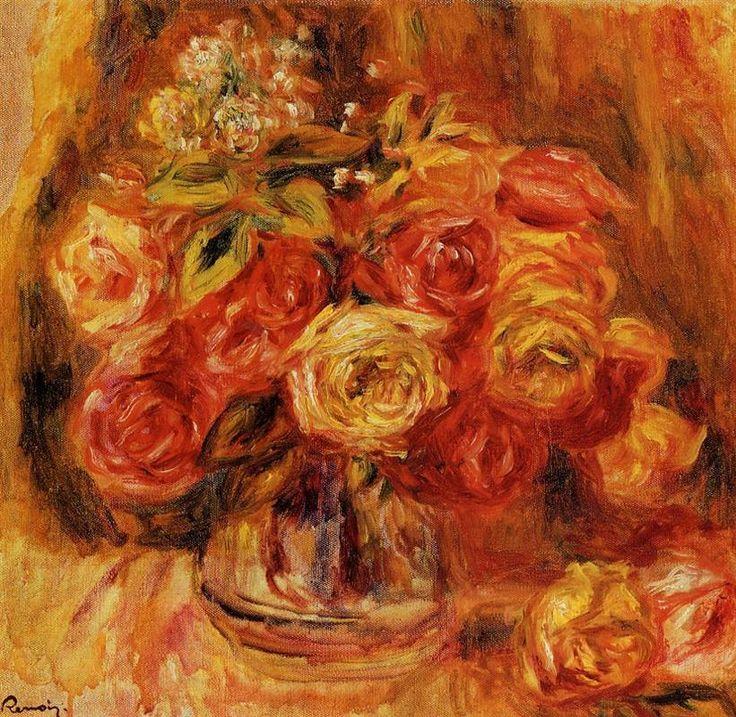 Flower Study - Pierre-Auguste Renoir - WikiArt.org