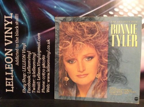 Bonnie Tyler The Greatest Hits LP Album Vinyl Record Rock STAR2291 80's Music:Records:Albums/ LPs:Rock:Soft