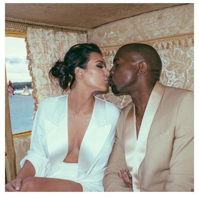 Kim Kardashian shares never before seen Kanye West Wedding Instagram Photos | NYLON