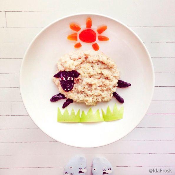 Фото - Съедобные картины | Идеи для блюд, Домашний рецепт ...