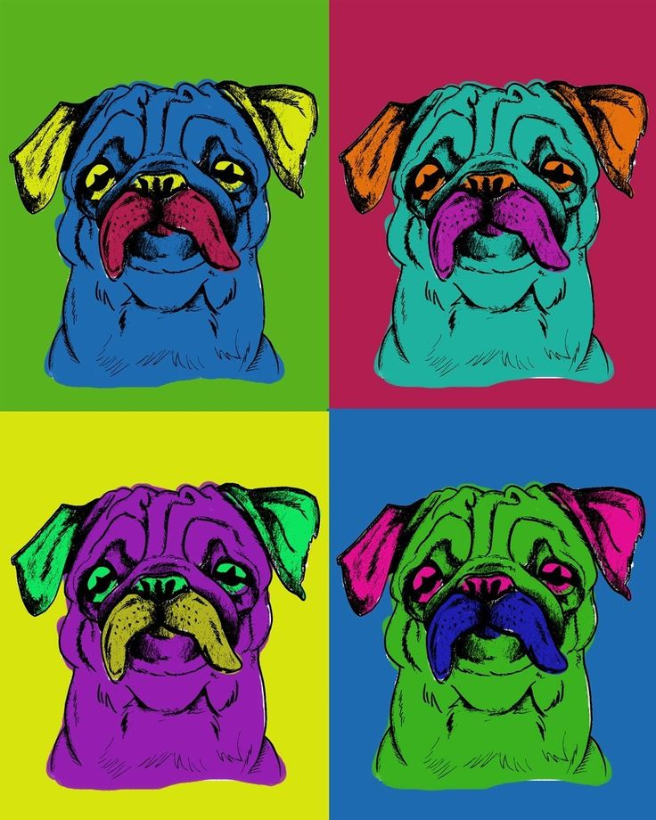 Pugs by AW