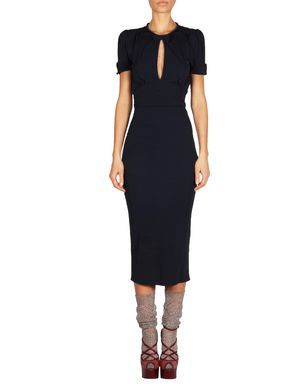 Sleeveless Pencil Dress with Sweetheart neck Fall/winter Dsquared2 pSxgR