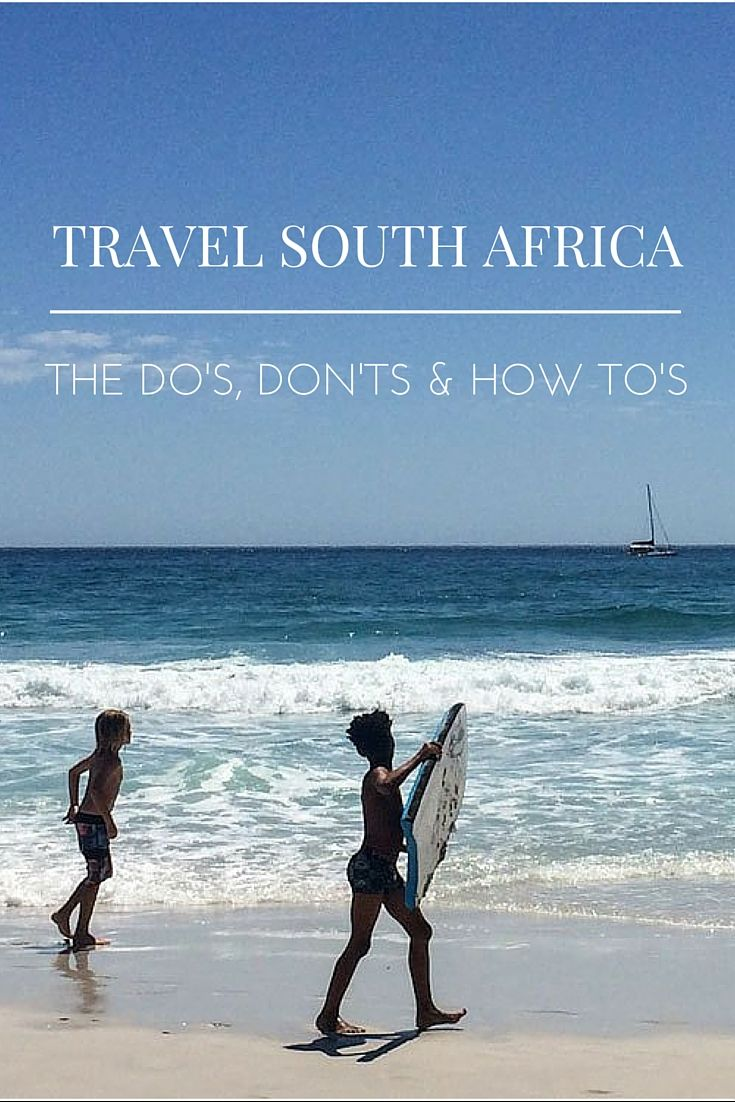 Traveling South Africa. What does that entail? Do we have to see the good, the bad and the ugly? I say you should, otherwise it's just another holiday.