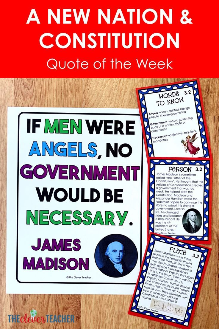 Need A Constitution Project For Kids Us History Quote Of The Week Is A Fun Way To Integr Literacy Strategies 7th Grade Social Studies 6th Grade Social Studies [ 1104 x 736 Pixel ]