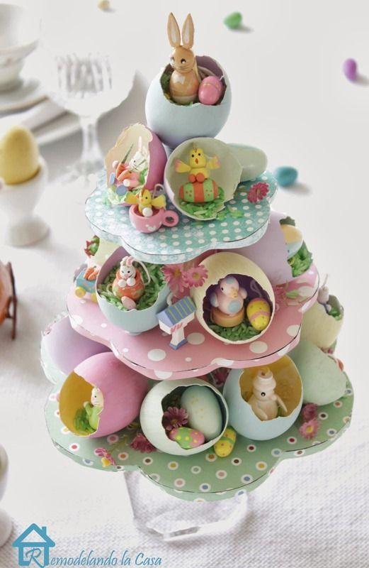 Easter egg tree 4