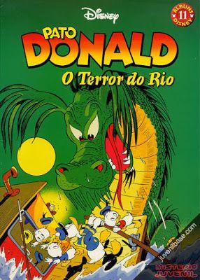 BD Portugal: Pato Donald - O Terror do Rio