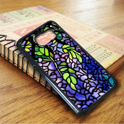 Tiffany Style Stained Glass Samsung Galaxy S6 Case