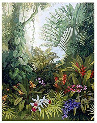 Chan-Mei Medieval 3D Pintados A Mano De Las Plantas De La Selva Tropical De  Murales De Papel Tapiz De Fondo De Paisaje Papel Tapiz Personalizado Para  El ... 3c0c344b69