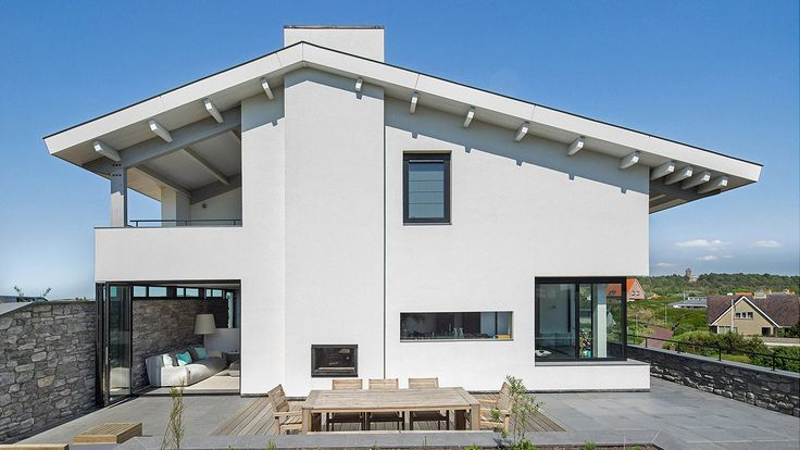 Design luxurious villa Bergen aan Zee by BNLA architecten. Photography by Studio de Nooyer.