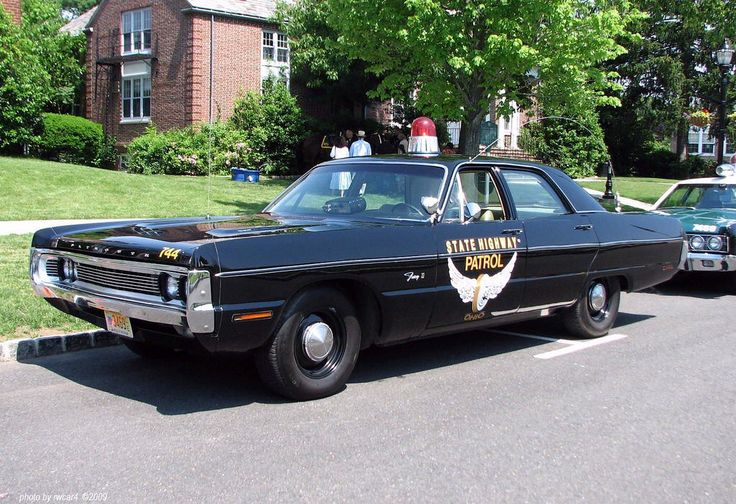 1970 Plymouth Fury, Ohio State Patrol.