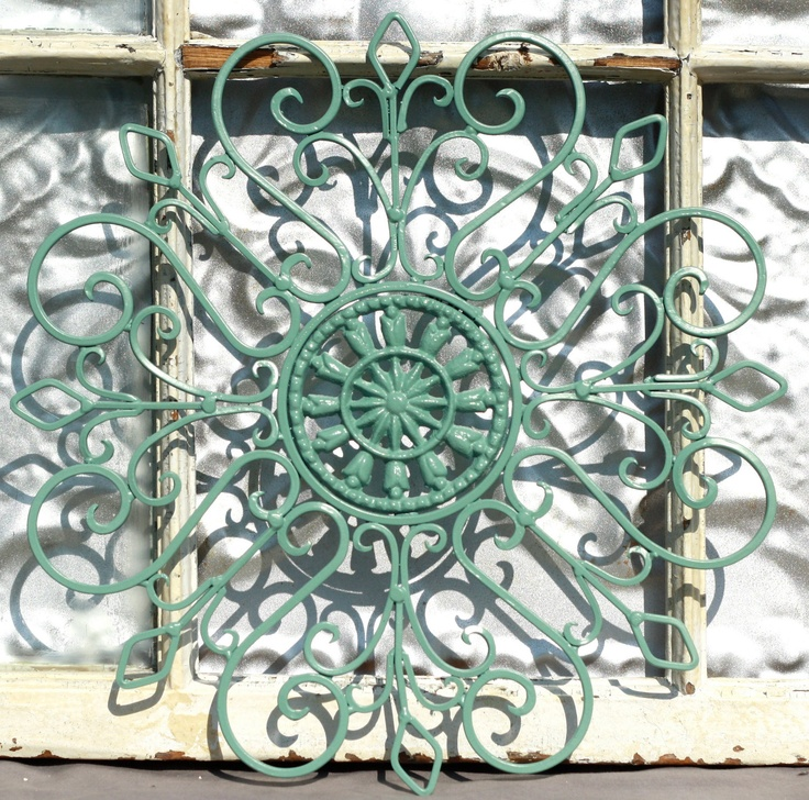Wrought Iron Wall Decor/ Metal Wall Hanging/ Indoor/ Outdoor Metal Wall Art/