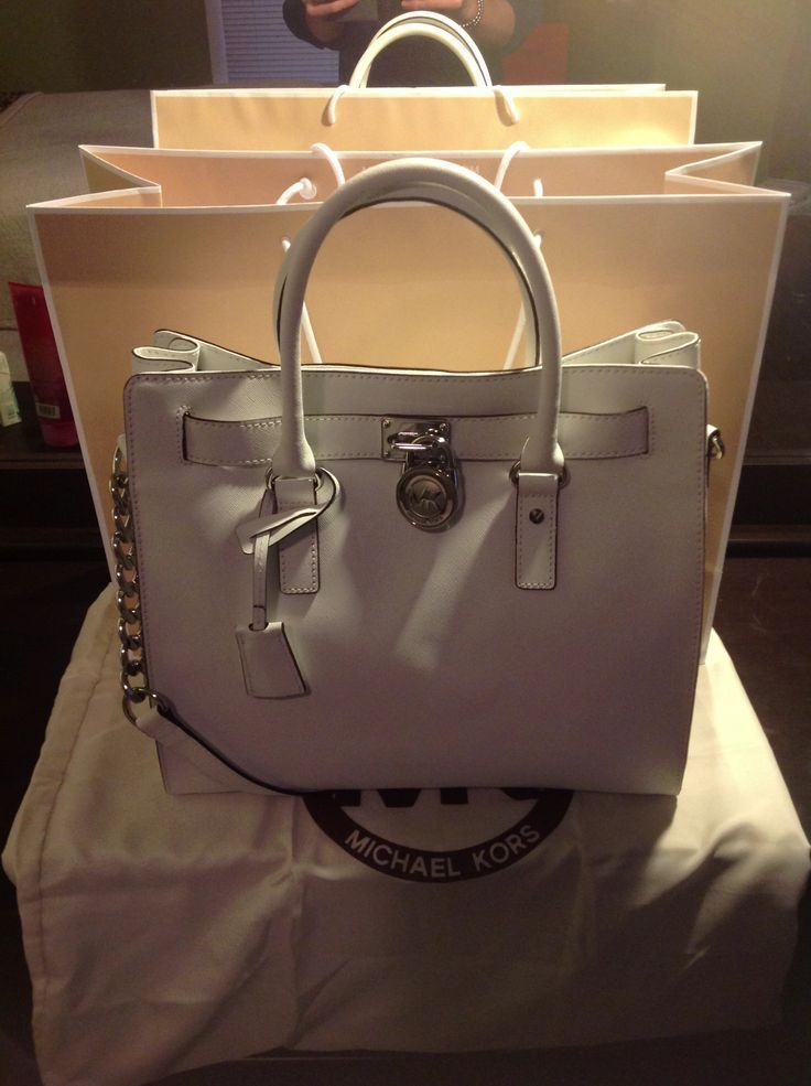 Michael Kors Hamilton Outlet White On Black Friday 66 85 Fashion Women Red Mk Bags Pinterest Handbags And