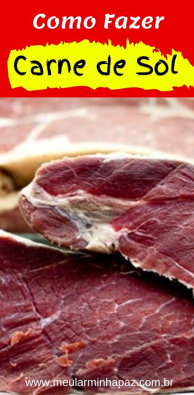 Como Fazer Carne De Sol Limpar A Carne Retirando Os Nervos E A