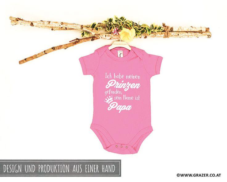 Bodys - Babybody mit Spruch | 4 - ein Designerstück von Dr_Grazer_und_Co bei DaWanda
