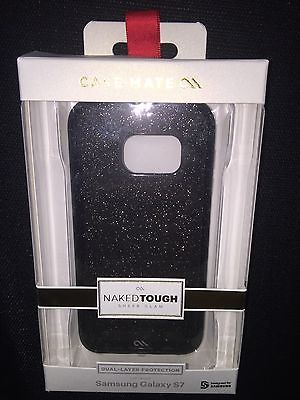 Casemate Sheer Glam Glitter Case For Samsung Galaxy s7 New NIB