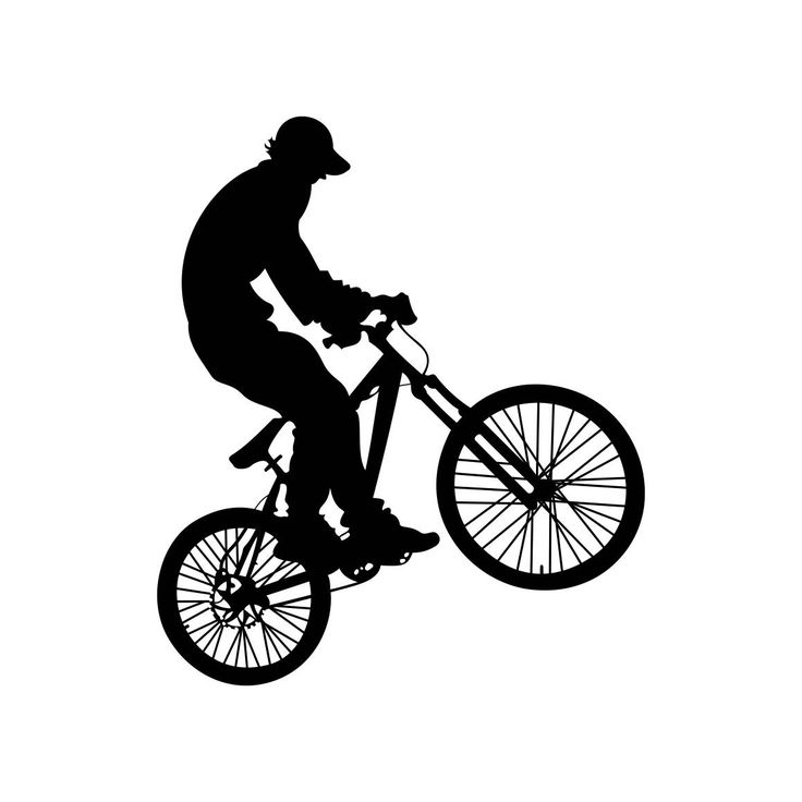 Bicyclist Ride a bike Graphics SVG Dxf EPS Png Cdr Ai Pdf Vector Art Clipart instant download Digital Cut Print File Cricut Silhouette by VectorartDesigns on Etsy