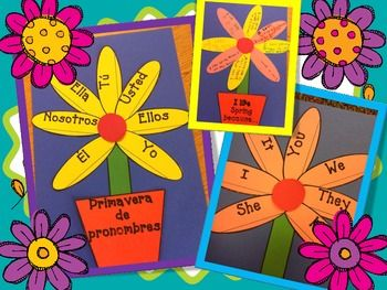 With this activity, your students are going to have lots of fun, celebrating the Spring, practicing pronouns and improving their writing skills.