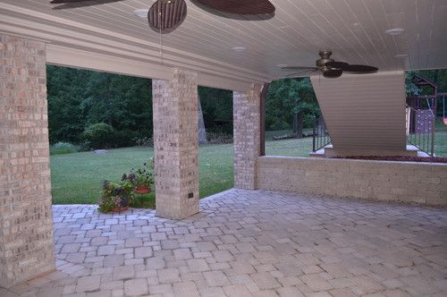 Patio Under Deck Design, Pictures, Remodel, Decor and Ideas