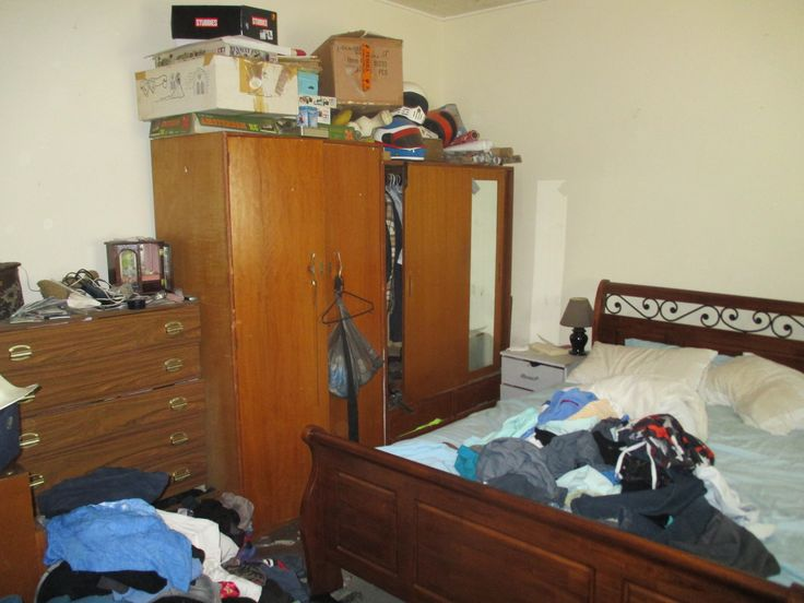 Before- Main bedroom