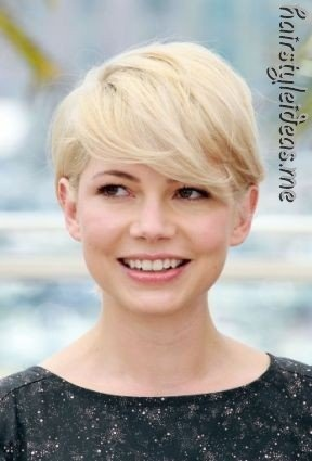 . #hairstylesShort Hair, Pixie Hairstyles, Pixie Haircuts, Long Bangs, Hair Cut, Michelle Williams, Michele Williams, Shorts Hairstyles, Pixie Cut