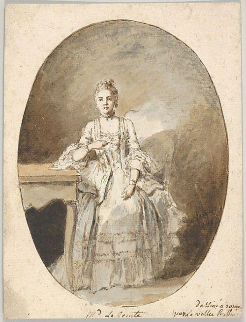 Marguerite Le Comte, Etienne de Lavallee-Poussin, 1764, French school (Metropolitan Museum of Art)