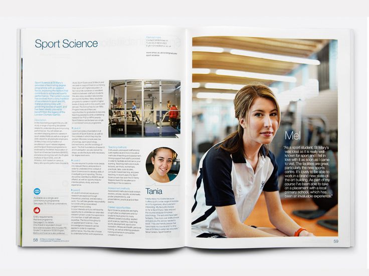 Best He Prospectus Images On   Brochures Page Layout