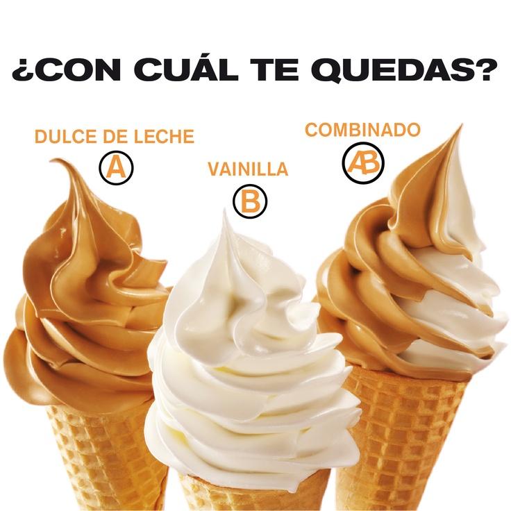 Dulce de leche, Ice and Cream on Pinterest