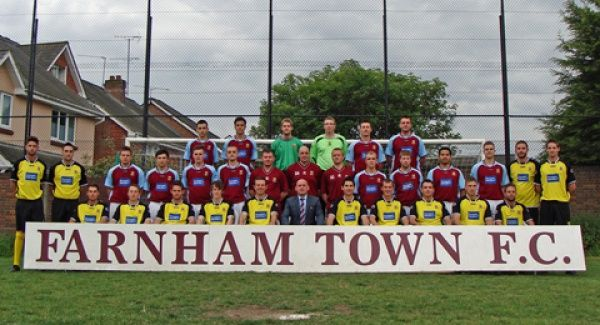 Farnham Town Football Club is a senior level football club based in Farnham, Surrey, England. Established in 1906 through the merging of Farnham Bungs