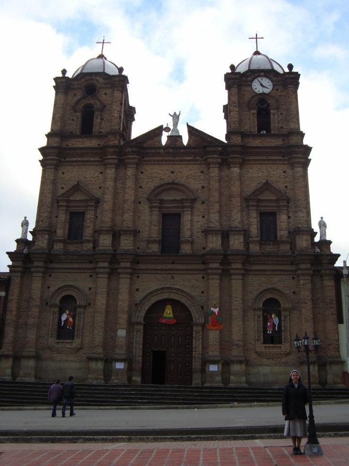 Catholic Cathedral in Boyaca Colombia