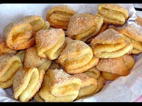 Печенье творожные треугольники! - YouTube