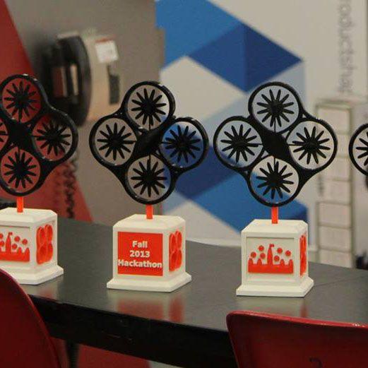 Ottawa Drones Fall 2013 Hackathon - 3Dprintler Coverage
