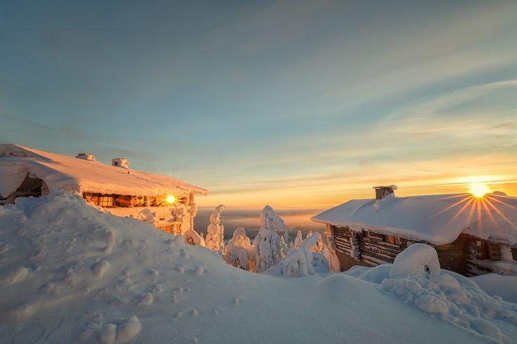 Ihr möchtet die Polarlichter im winterlichen Lappland in Finnland sehen? Dann findet ihr hier alle wichtigen Infos und die schönsten Hotels!