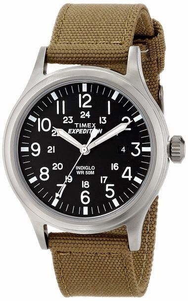 Expedition Scout Metal $43.89 http://roksmu.blogspot.com/2014/07/expedition-watches.html