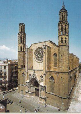 Santa María del Mar de Barcelona
